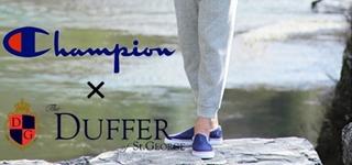 【DUFFER×Champion】追加予約会をZOZOTOWNにて開催中です。