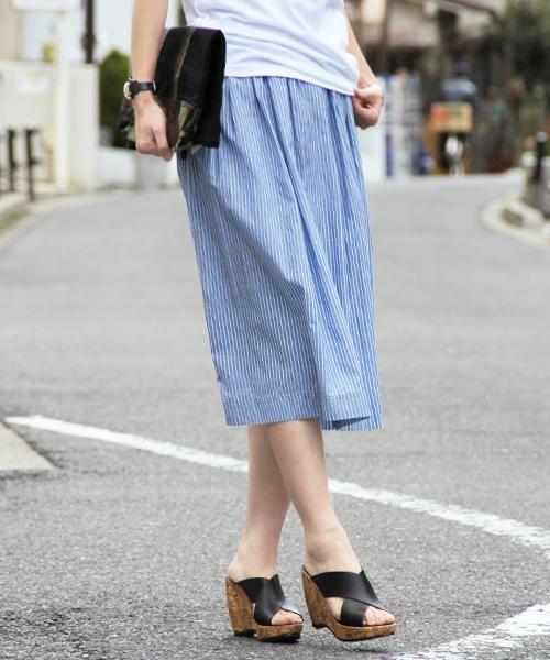 【ZOZOTOWN】夏まで活躍のスカート !