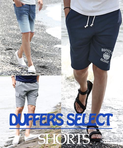 【ZOZOTOWN】      DUFFERS SELECT ITEM【SHORTS】