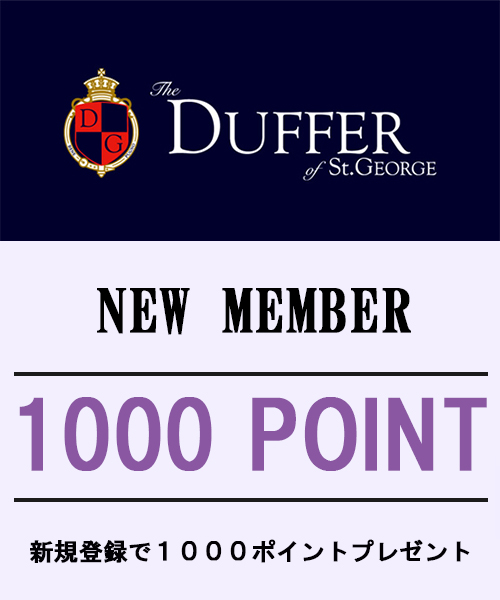 【OFFICIAL ONLINE SHOP】1000ポイント プレゼント