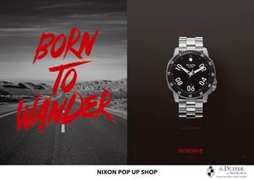 【渋谷店】NIXON POP UP SHOP開催!