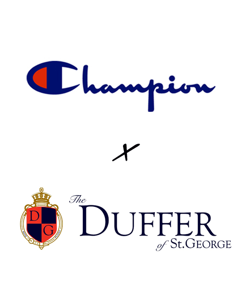 【ZOZOTOWN】DUFFER×Champion EARLY SUMMER COLLECTION 予約会