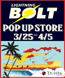 【渋谷店】LIGHTNING BOLT POP-UP STORE開催
