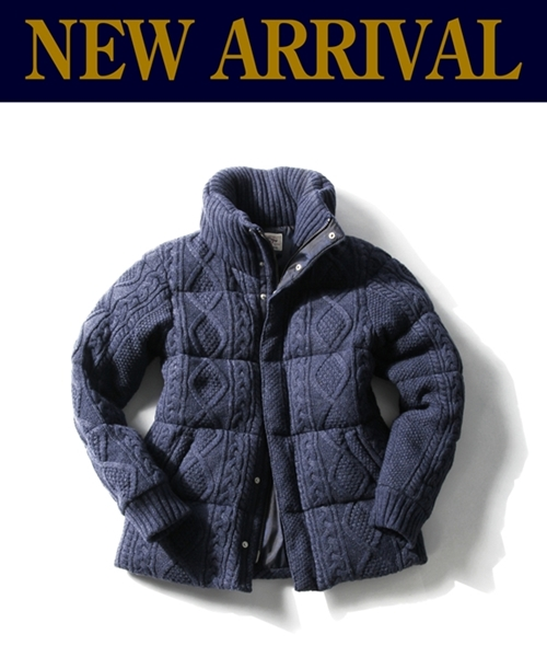 """NEW ARRIVAL""""CABLE KNIT DOWN"""""""