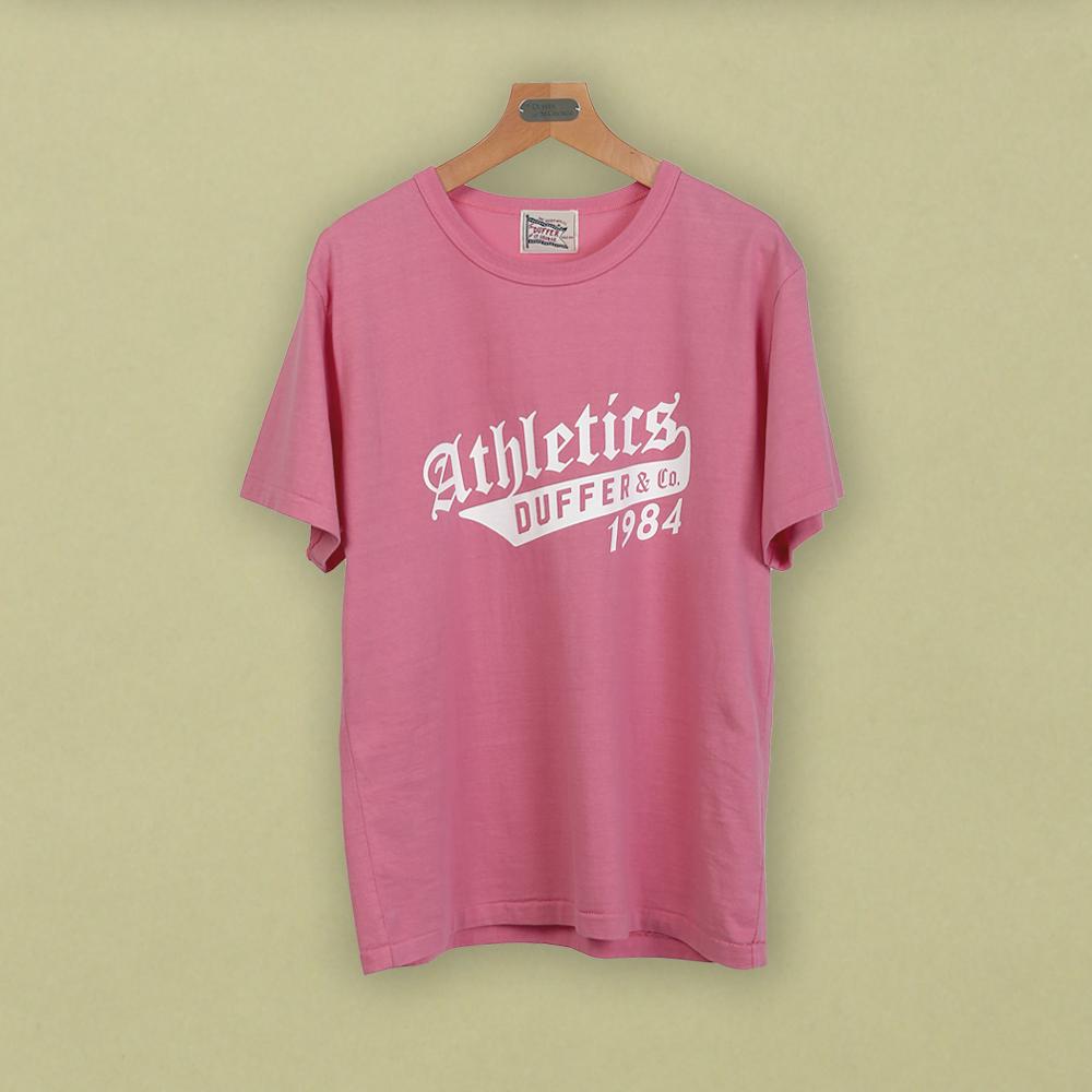 """ATHLETICS 1984″TEE:プリントTシャツ"