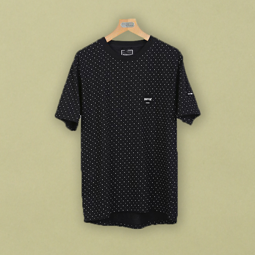 BLACK LABEL ALL OVER DOT SPORTS  TEE:ドットTシャツ