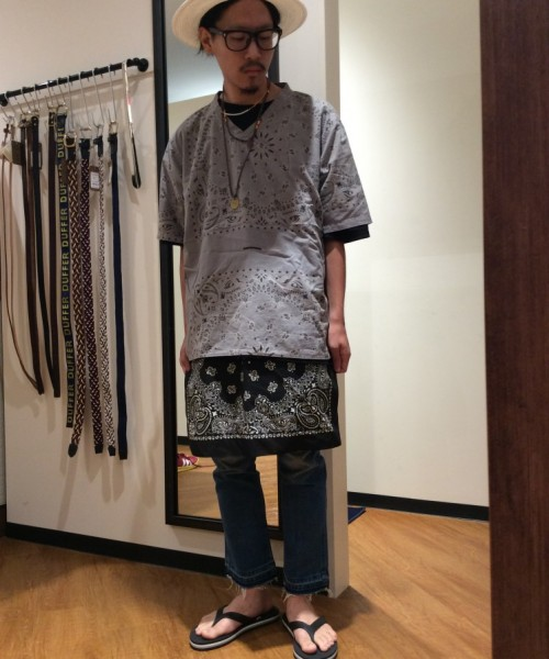 DUFFER×Wrangler BOOTS CUT DAMAGE DENIM1