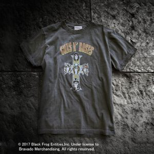 """GUNS N' ROSES"" ROCK TEE:ガンズ・アンド・ローゼズロックTシャツ"