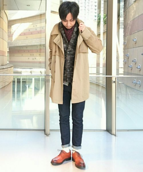 SUPERIOR PIMA COTTON TWILL COAT