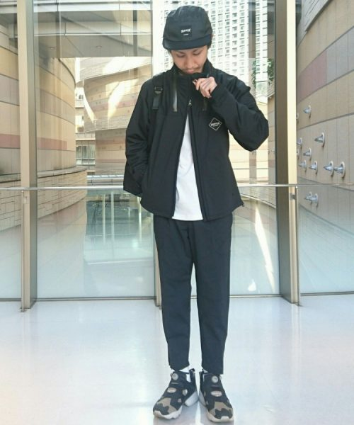 BLACK LABEL STAND COLLAR BLOUSON