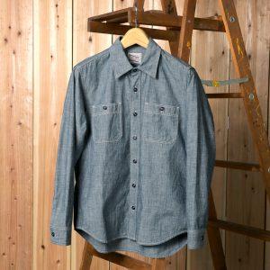 CHAMBRAY SHIRT:シャンブレーシャツ