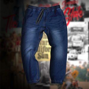INDIGO JOGGER PANTS:インディゴポンチジョガーパンツ