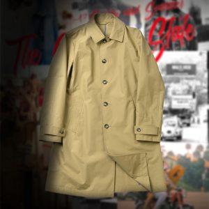 T/C SOUTIEN COLLAR COAT:ステンカラーコート