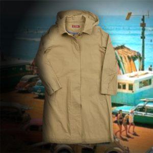 CONVERTIBLE COLLAR COAT:フードステンカラーコート
