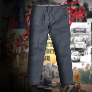 SPINDLE WAIST STRETCH TAPERED SKINNY TROUSERS:ストレッチスキニーパンツ