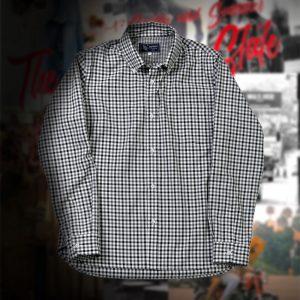 COOL MAX GINGHAM CHECK B.D SHIRT:クールマックスギンガムチェックシャツ