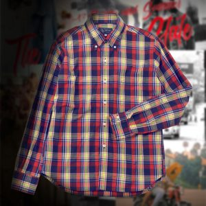 MADRAS CHECK B.D SHIRT:マドラスチェックシャツ