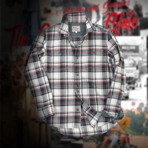 C/L TWILL CHECK SHIRT:チェックシャツ