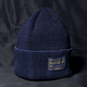INDIGO KNIT CAP:インディゴニットキャップ