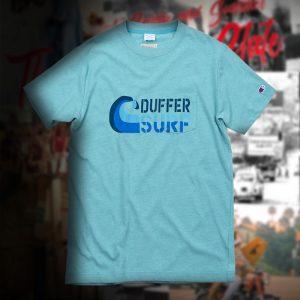 Champion×DUFFER SURF MOTIF DOUBLE DRY TEE:チャンピオンTシャツ