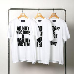 classicsnew MESSAGE PRINT 3P PACK-TEE:3パックプリントTシャツ
