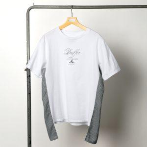 classicsnew SIDE FABRIC TEE:デザインTシャツ