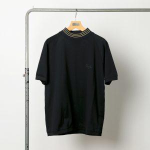 classicsnew SEED STITCH MOCKNECK-TEE:モックネックTシャツ