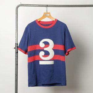 classicsnew NUMBERING BORDER-TEE:ナンバリングボーダーTシャツ