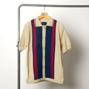 classicsnew ITALIAN KNIT POLO SHIRT:ニットポロシャツ