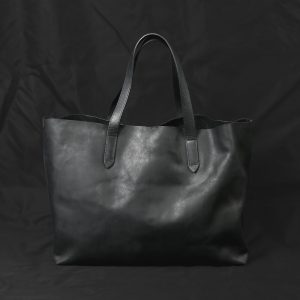 LEATHER TOTE BAG:レザートートバッグ