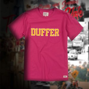 """DUFFER EMBROIDERY"" COLLEGE TEE:カレッジT"