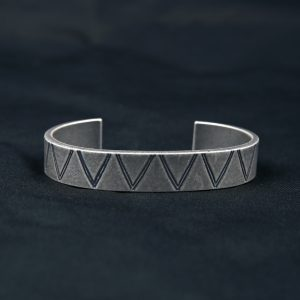 WAVE MOTIF BANGLE NO.2:バングル