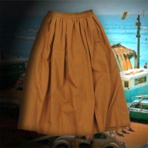GATHER FLARE SKIRT:ギャザーフレアスカート