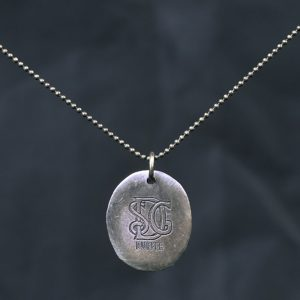 DOG-TAG CIRCLE NECKLACE:ネックレス