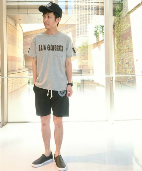 SURF-POINT TEE【BAJA CALIFORNIA】