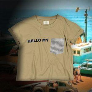 SHIRTS POCKET TEE:シャツポケTシャツ