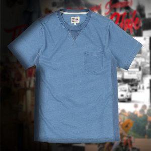 INDIGO PK-TEE:インディゴTシャツ