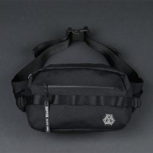 BLACK LABEL BODY BAG:コーデュラボディバッグ