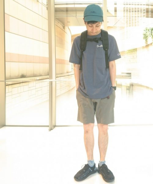 Champion×DUFFER DOUBLE DRY ONE POINT PK-TEE 2