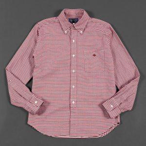 GINGHAM CHECK OXFORD B.D SHIRT:ギンガムチェックオックスシャツ
