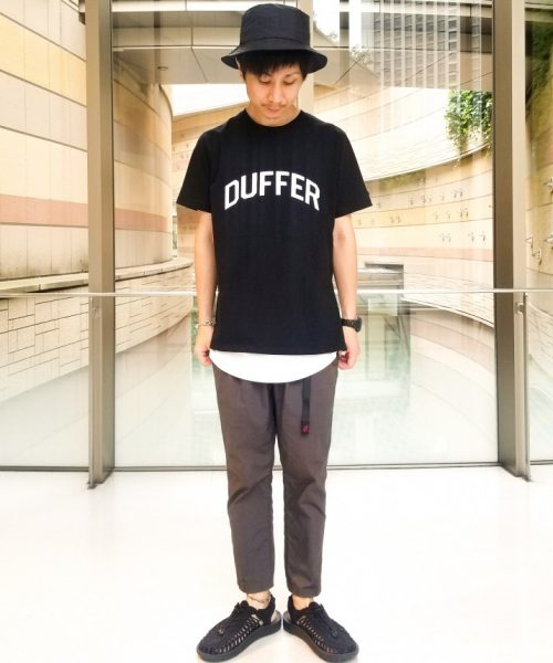 BLACK LABEL SIDE ZIP STATEMENT TEE