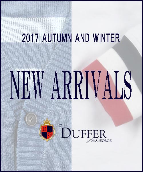 【DUFFER】2017 A/W  NEW ARRIVALS VOL.1
