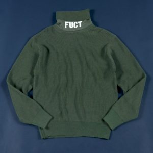classicsnew TURTLE NECK RIB KNIT:タートルネックニット