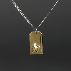 STAR NECKLESS:ハンドメイド スターモティーフネックレス