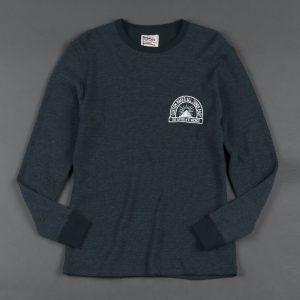 T/C WAFFLE L/S TEE:サーマル ロングスリーブTシャツ