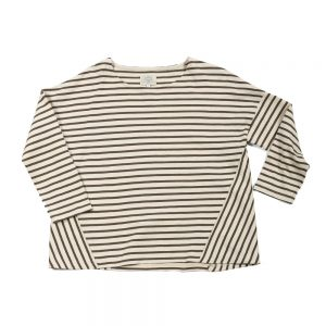 SWITCHING BORDER LONG SLEEVE TEE:切り替えボーダーT