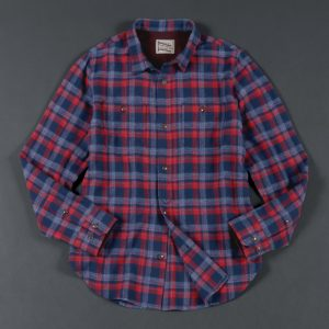 FLANNEL CHECK SHIRT:ネルシャツ