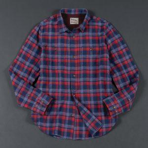 FLANNEL CHECK SHIRT:ネルシャツ