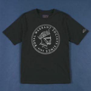 classicsnew ROYAL WARRANT SOCIETY FOIL PRINT-TEE:プリントTシャツ