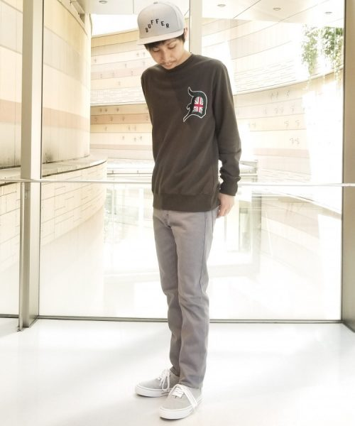 """luxuria ⅴ"" CREW SWEAT:D"